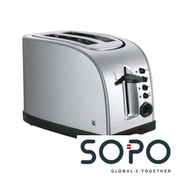 WMF Stelio 2Scheibe(n) 900W Schwarz, Silber Toaster