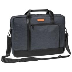 PEDEA Laptoptasche 17,3 Zoll (43,9 cm) ELEGANCE-T Notebook Umhängetasche mit Tablet Fach, grau