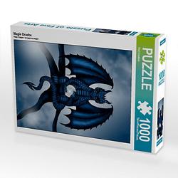 Magie Drache Lege-Größe 48 x 64 cm Foto-Puzzle Bild von Pezi Creation Puzzle