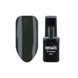 UV Shellac - Zinn 12ml - Shellac Nagellack Gellack Gel Nagellack UV Lack Dunkelgrün Olive