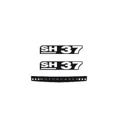 "SHAD SH37 ""SHAD"" STICKERS"