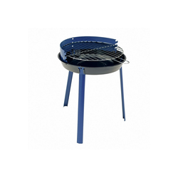 Grillchef Holzkohlegrill, Rundgrill 49 cm blau Style 0534