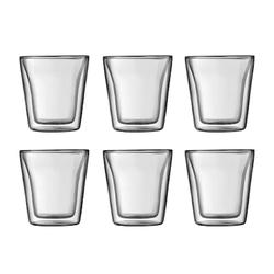 Bodum Bodum Canteen Doppelwandiges Glas 6 St 100 ml