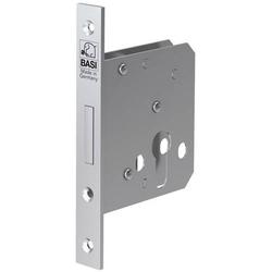 Basi 9640-5520 Einsteck-Zimmertürschloss Silber
