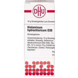 HISTAMINUM hydrochloricum D 30 Globuli 10 g