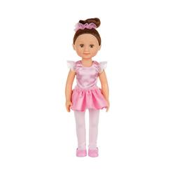 Melissa & Doug Stehpuppe Puppe Victoria Ballerina