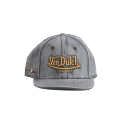 Von Dutch Baseball Cap Von Dutch Cap FLAT BILL Grau Acid Black