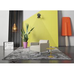 machalke® Sessel single, Ledersessel mit Metallkufen natur