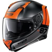 Nolan N87 Plus Distinctive N-Com Black/Orange
