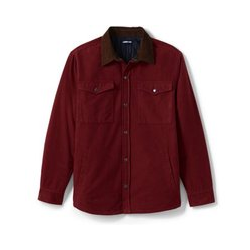 Moleskin-Hemdjacke - XL - Rot