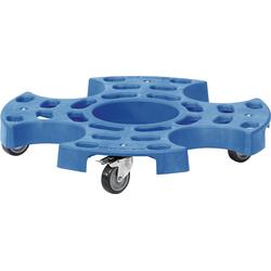 Reifenroller Polypropylen geschlossen Ø 630 mm blau für 8 Reifen oder 4 Kompletträder FETRA