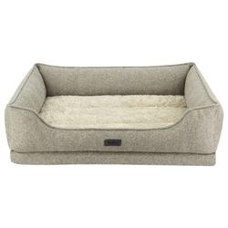 Nobby Orthopädisches Komfortbett eckig Calbu beige für Hunde