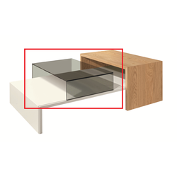 NOW by Hülsta Coffee Tables Glashaube 3610
