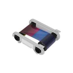 R2012 - Einfarbiges Farbband - blau- 1000 Karten/Rolle