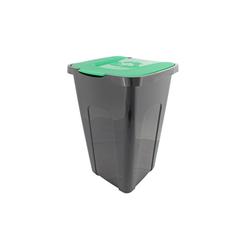 Centi Mülltrennsystem Abfalltonne Abfalltonne schwarz