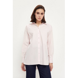 Finn Flare Klassische Bluse in klassischer Optik rosa S