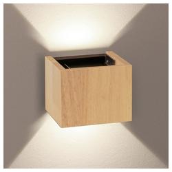 s.LUCE Wandleuchte Ixa LED in Holz