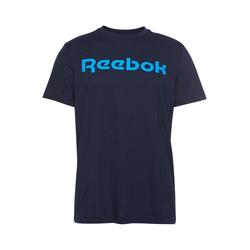 REEBOK Herren T-Shirt 'Linear Read' marine