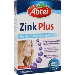 ABTEI Zink Plus Nährstoff Kapseln 32 St