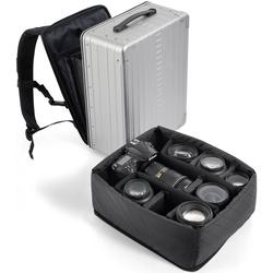 ALEON Fototasche Camera Cube, 17 Zoll, Einsatz für den Aleon Aluminium-Kofferrucksack Backpack, 17 Zoll