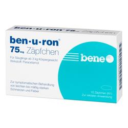 BEN-U-RON 75 mg Suppositorien 10 St
