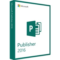Microsoft Publisher 2016 Vollversion