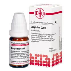 GRAPHITES C 200 Globuli 10 g