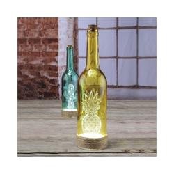 MARELIDA Dekolicht Farbige Glasflasche