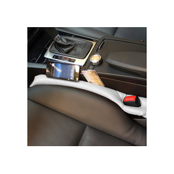 IVSO Autositzbezug Autositzauflage, Autositz Lückenfüller Lückenkissen(2-St) grau