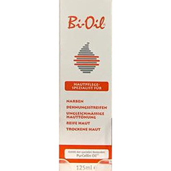 Bi-Oil Körperöl, aktiv gegen Dehnungsstreifen und Narben, 125 ml