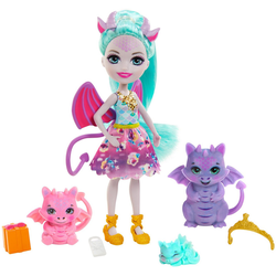 Enchantimals Anziehpuppe Enchantimals - Royals Dragon Family