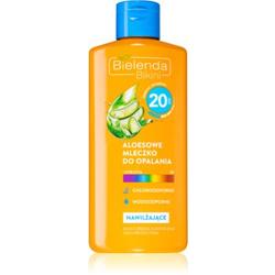 Bielenda Bikini Sonnenmilch mit Aloe Vera SPF 20
