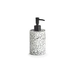 HTI-Living Seifenspender Seifenspender für Handseife weiß Ø 7.6 cm x 7.6 cm x 17 cm