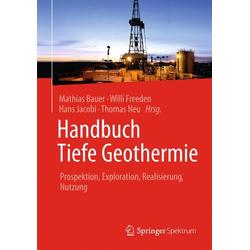 Handbuch Tiefe Geothermie als Buch von