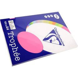 Kopierpapier Pollen A4 80g/qm VE=100 Blatt neon-rosa
