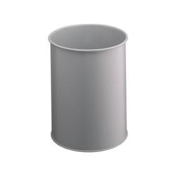 DURABLE Papierkorb grau 15 l - 26 cm x 31.5 cm