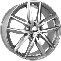 CMS Products C28 racing silver 7.5x19 ET35 - LK5/114.3 ML66.1 Alufelge silber