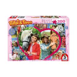 Schmidt Spiele Puzzle Puzzle Bibi und Tina Live Action Motiv 3, 200, Puzzleteile