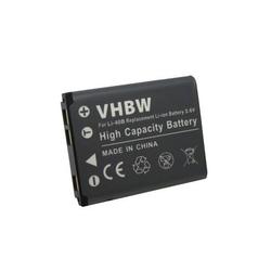 vhbw Li-Ion Akku 500mAh (3.6V) für Kamera Casio EXILIM EX-Z1 EX-Z270 EX-ZS6 EX-ZS150 EX-Z20 EX-Z28 EX-N1 EX-N5 EX-N10 EX-N20 EX-N50 wie NP-80.