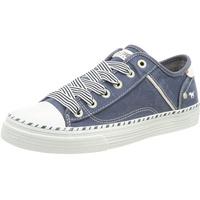 MUSTANG Damen 1376-301-841 Sneaker, jeansblau, 38