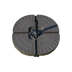 Outsunny Schirmhalter Sonnenschirmständer 4-teilig befüllbar