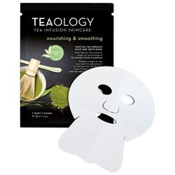Teaology Matcha Tea Miracle Face and Neck Mask Tuchmaske