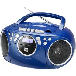 Dual P70 Boombox (FM-Tuner, 3 W) blau