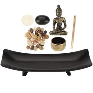 Akozon Buddha Kerzenhalter, Zen Buddhismus Kerzenhalter Räucherstäbchenhalter Einrichtungsartikel für Heimtextilien Kerzenhalter Charting Shabbat Leuchter