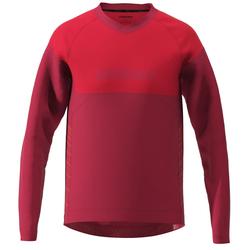 Zimtstern MTB-Jersey Langarm Bulletz Jester Red/Cyber Red