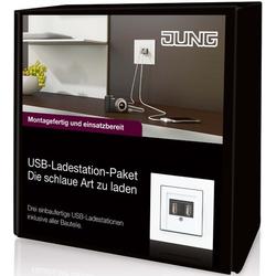 Jung USB-Ladestation-Paket USB-Paket