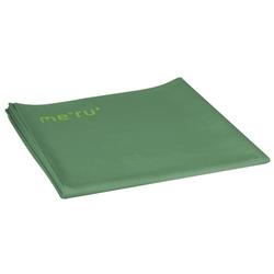 Meru Sports Towel Suede - Handtuch Outdoor Trekking Green 120 x 150 cm