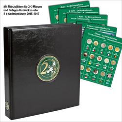 Münzensammelalbum für die 2 Euro Münzen Europa ab 2015