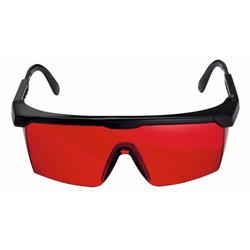 Laser-Sichtbrille. rot