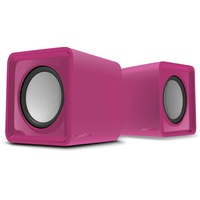 SpeedLink TWOXO Stereo Speakers, pink
